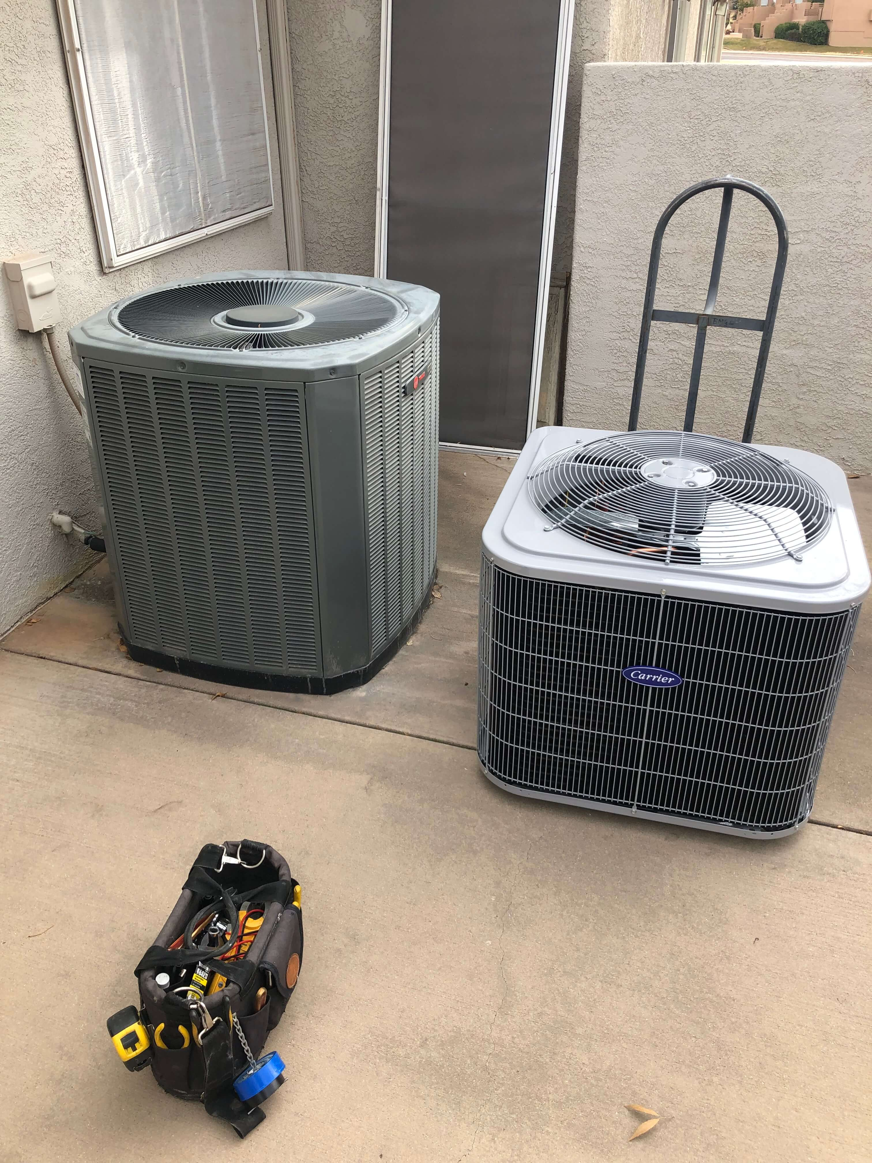 New Condenser Install St. George Utah